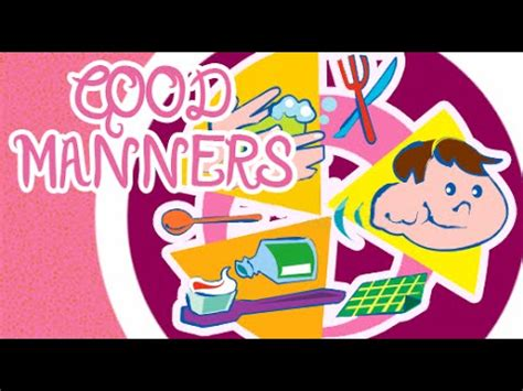 Essay on good and bad manners