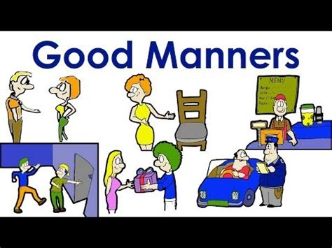 Essay On, Importance Of Good Manners, Manners
